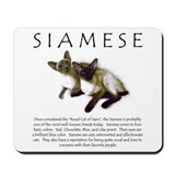 Mousepad - Siamese Breed Info