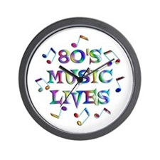 80's Music Wall Clock