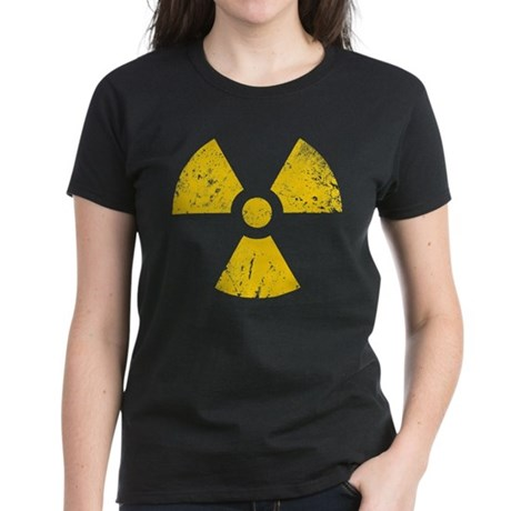 'Vintage' Radioactive Women's Dark T-Shirt