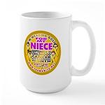 For My Niece Large Mug