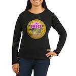 For My Niece Women's Long Sleeve Dark T-Shirt