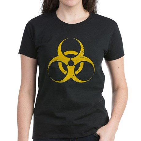 'Vintage' Biohazard Women's Dark T-Shirt