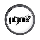 Got Game? Wall Clock
