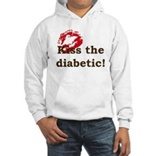 Kiss the Diabetic Hoodie Sweatshirt