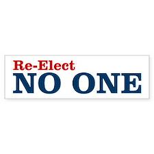 Re-Elect NO ONE