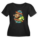 Don't Judge Me... Women's Plus Size Scoop Neck Dar