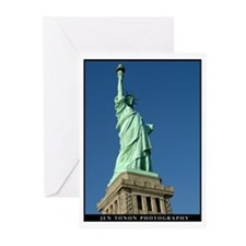Statue of Liberty Greeting Cards