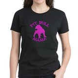 Pitbull Mama Solid Tee-Shirt