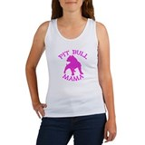 Pitbull Mama Solid Women's Tank Top