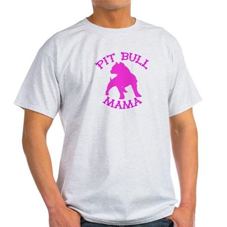 Pitbull Mama Solid Light T-Shirt