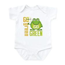Go Green Frog Infant Bodysuit