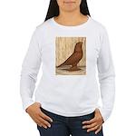WOE Red Tumbler Women's Long Sleeve T-Shirt