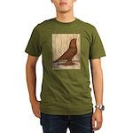WOE Red Tumbler Organic Men's T-Shirt (dark)