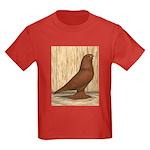 WOE Red Tumbler Kids Dark T-Shirt