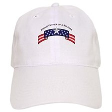 Pround Father of a Soldier St Baseball Cap