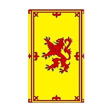 Scottish Rectangle Stickers