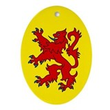 Scottish Oval Ornament