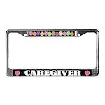 Caregiver License Plate Frame