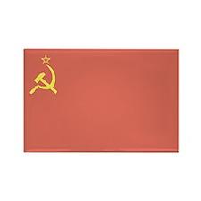 USSR Flag Rectangle Magnet (10 pack)