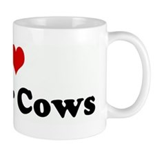I Love Dexter Cows Mug