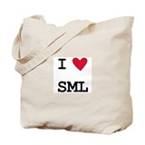I heart SML Tote Bag
