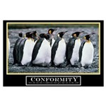 23x35 Original Conformity Motivational Poster