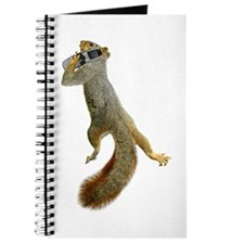Squirrel on Cell Phone Journal