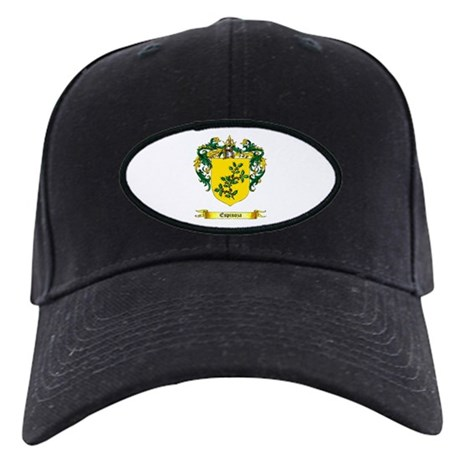 Espinoza Shield Black Cap