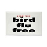 Bird Flu Free Rectangle Magnet (10 pack)