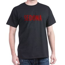 Sedona - Black T-Shirt