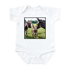 Miniature Donkey Family Infant Creeper