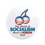 """A Poison Fruit 3.5"""" Button"""
