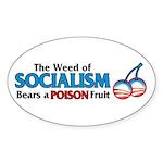 A Poison Fruit Oval Sticker (10 pk)