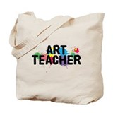 Art Teacher Tote Bag