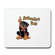 Rottweilers Rule Mousepad
