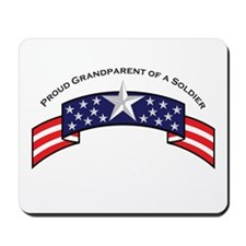 Proud Grandparent of a Soldie Mousepad