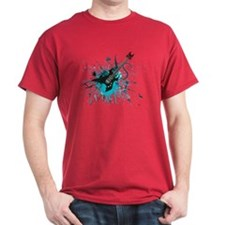Graffiti Guitar T-Shirt