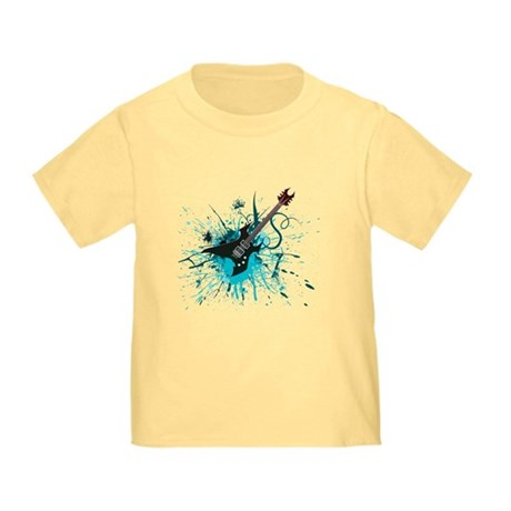 Graffiti Guitar Toddler T-Shirt