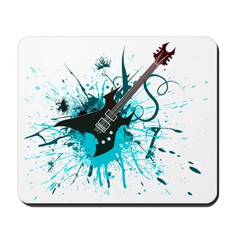 Graffiti Guitar Mousepad