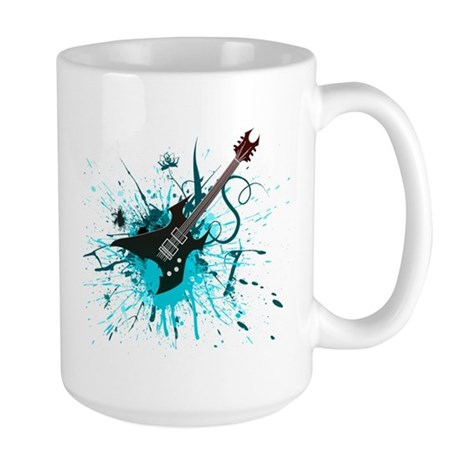 Graffiti Guitar Large Mug
