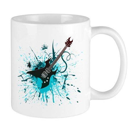 Graffiti Guitar Mug