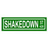 Shakedown Street Bumper Car Sticker