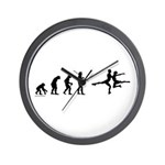 Figure Skate Evolution Wall Clock
