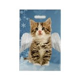 Angel Kitten Rectangle Magnet