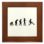 Foot Bag Evolution Framed Tile