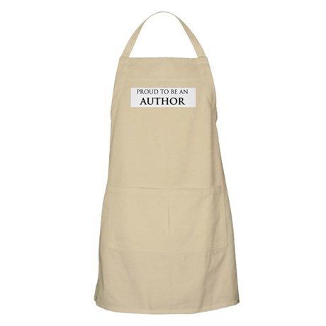 Proud Author BBQ Apron