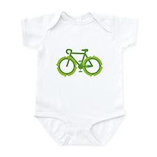 Go Green Bike Earth Infant Bodysuit