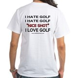I Hate Golf Shirt