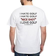 Funny golf t shirts shirts tees custom funny golf for Personalised golf shirts uk