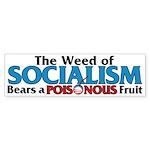 The Wead of Socialism Bumper Sticker